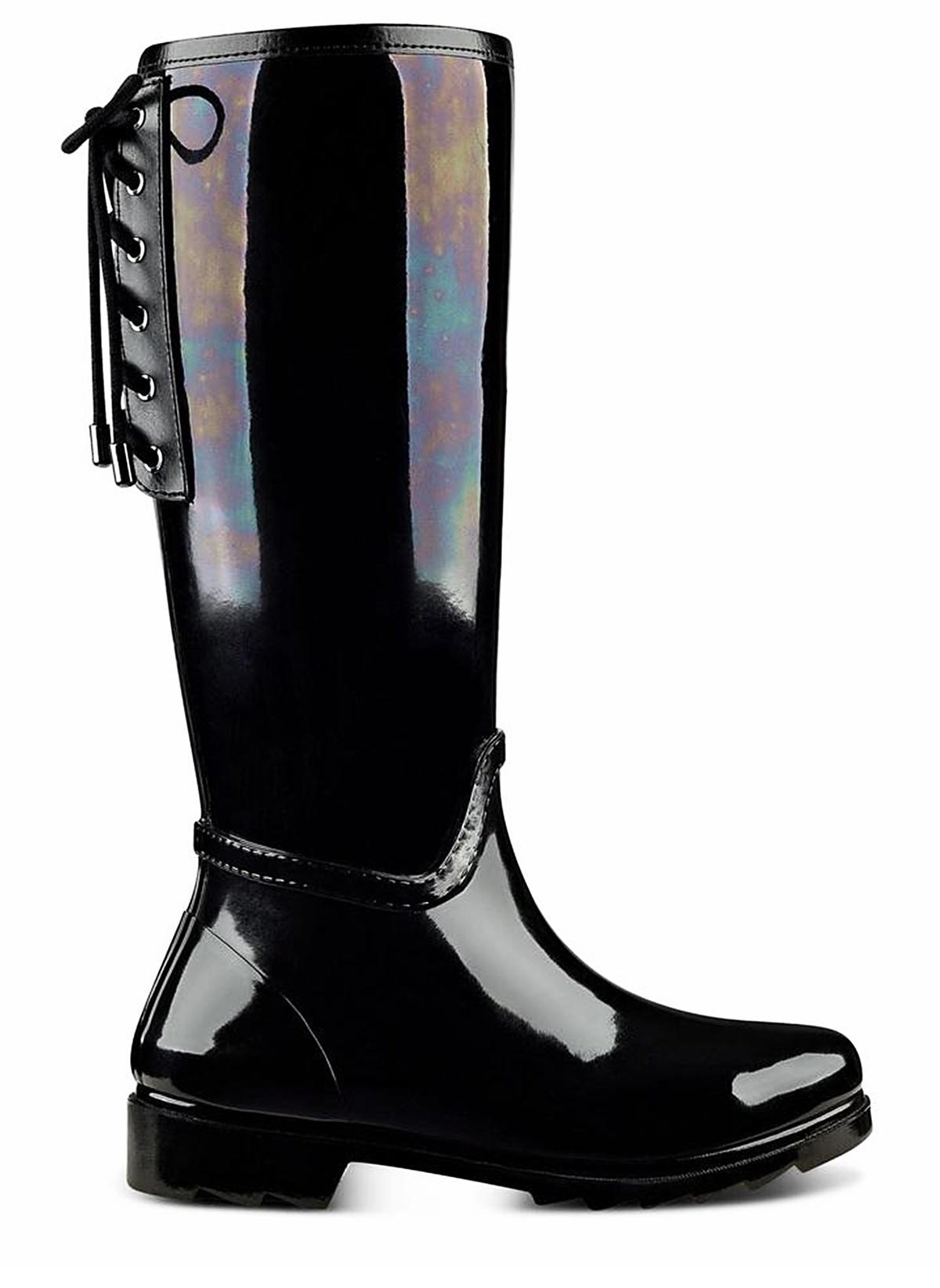 f1ed2b1ed680d Nine West Kadın Yağmur Çizmesi Siyah Multi Plastik | Morhipo | 18290863
